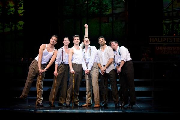 Douglas Williams, Chris Dwan, Shayne Kennon, Will Taylor, Tony Yazbeck and Will Blum  Photo