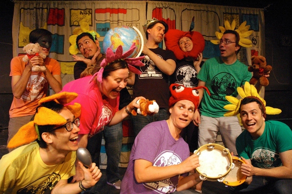 Photo Flash: First Look at Barrel of Monkeys' THAT'S WEIRD, GRANDMA: BEHIND THE [MONKEY] MUSIC