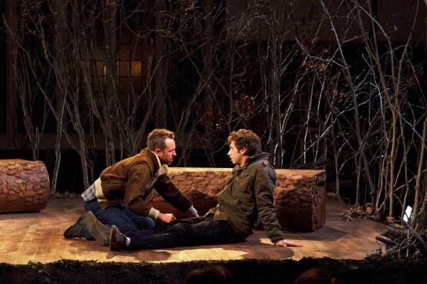 Photo Flash: First Look at Allison Daugherty, Gene Gallerano and More in THE CLEARING