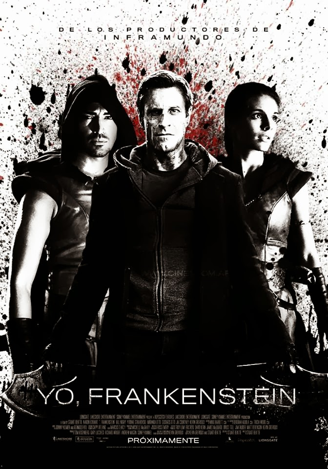 VIDEO: First Look - All-New Poster & TV Spot for I FRANKENSTEIN