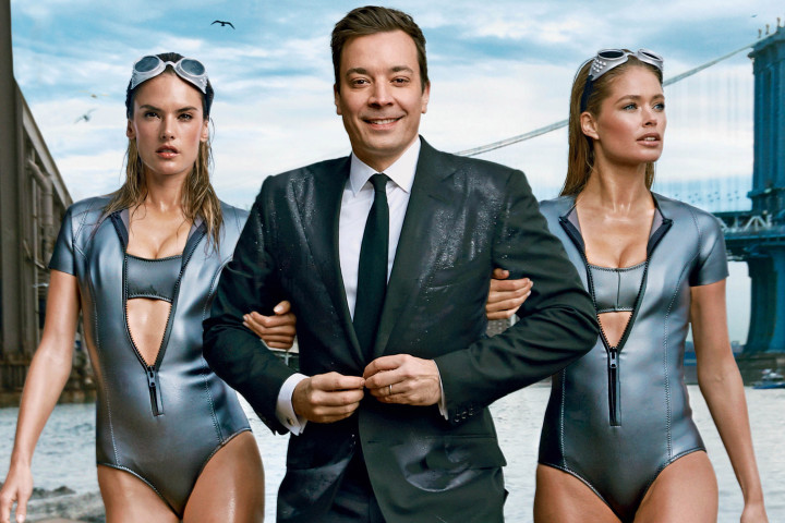 FIRST LOOK - Jimmy Fallon Graces Cover of February Vanity Fair