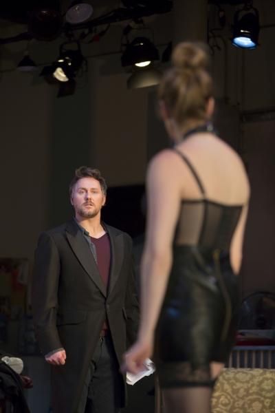 Photo Flash: First Look at Andrea Syglowski and Chris Kipiniak in VENUS IN FUR