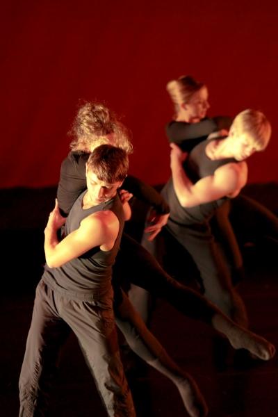 Ethan Kirschbaum, Caroline Burnett, Hayley Meier, and David Schultz Photo