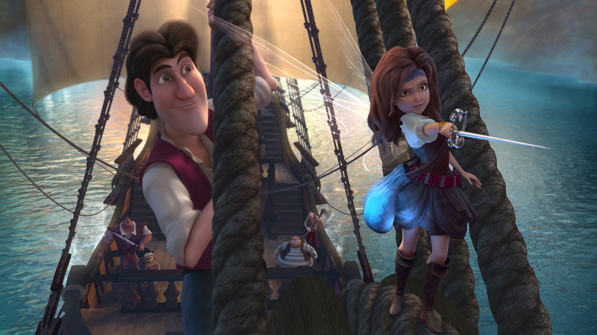 Photo Flash: Disney Partners with Fashion Designer Christian Siriano for THE PIRATE FAIRY