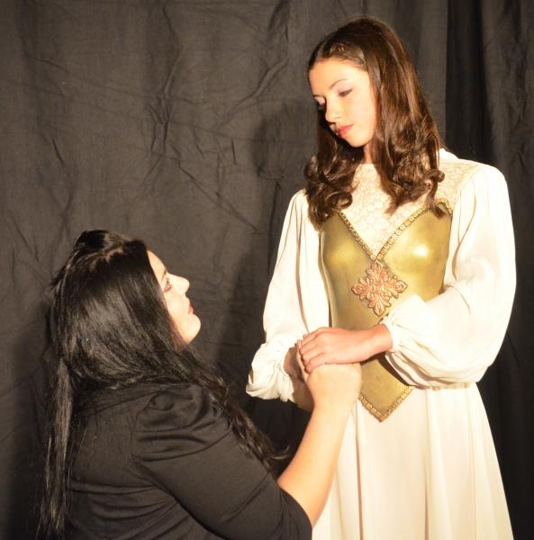 Liz Muller and Amanda Teneriello