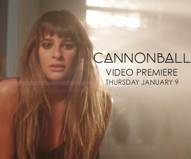 Lea Michele Teases 'Cannonball' Music Video, Set To Premiere 1/9