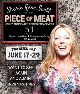 Pre-Order Sherie Rene Scott's ALL WILL BE WELL: THE PIECE OF MEAT Studio Sessions