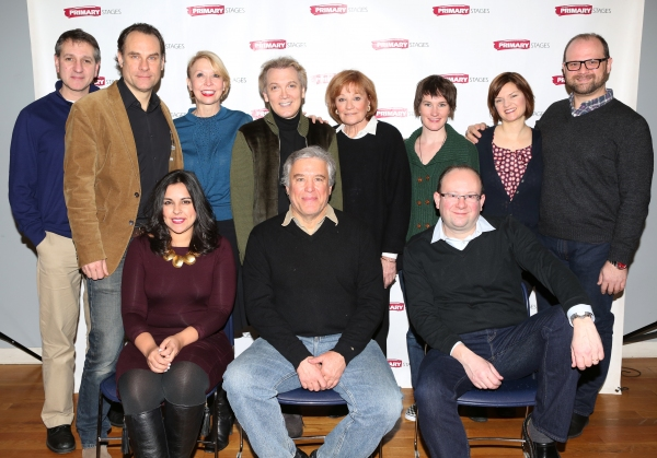 Front Row: Michelle Bossy, Casey Childs, Andrew Leynse, Second Row: Elliot Fox, Jonathan Walker, Julie Halston, Charles Busch, Cynthia Harris, Keira Keeley, Mary Bacon and Carl Andress