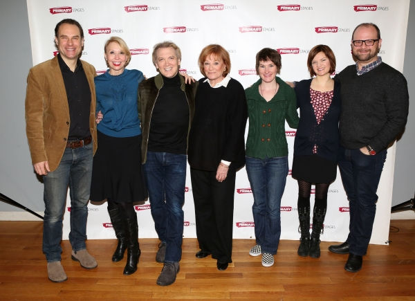 Jonathan Walker, Julie Halston, playwright Charles Busch, Cynthia Harris, Keira Keeley, Mary Bacon and director Carl Andress
