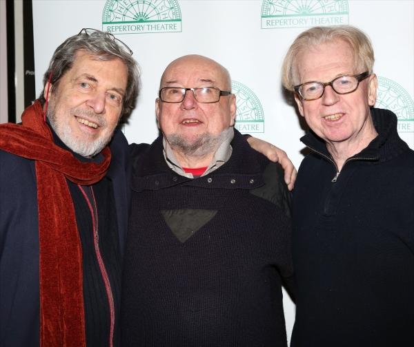 Tony Walton, Thomas Keneally and Larry Kirwan Photo
