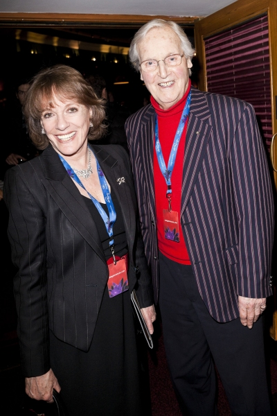 Esther Rantzen and Nicholas Parsonsat