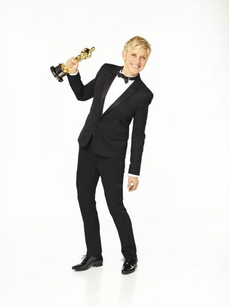 Photo Flash: Ellen DeGeneres in New OSCAR Promo Shots