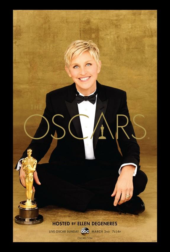 Official 2014 OSCAR Poster Revealed Featuring Host Ellen DeGeneres!