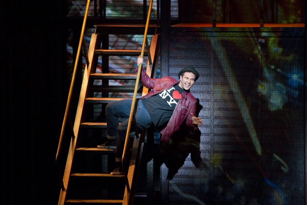 Photo Flash: First Look at Jillian Mueller, Corey Mach & More in FLASHDANCE National Tour
