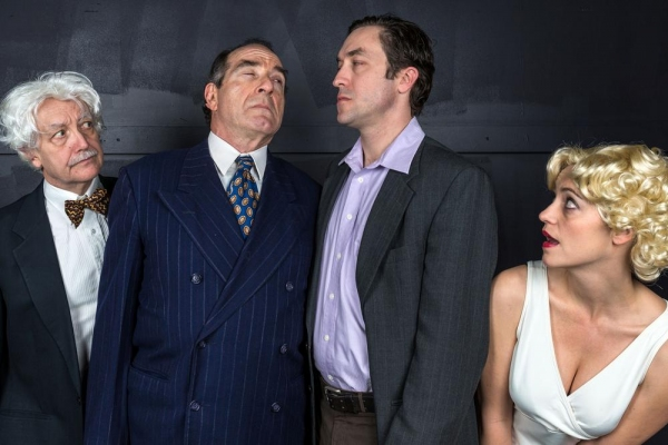 Photo Flash: Promotional Photos for Nora Theatre Company's INISIGNIFICANCE