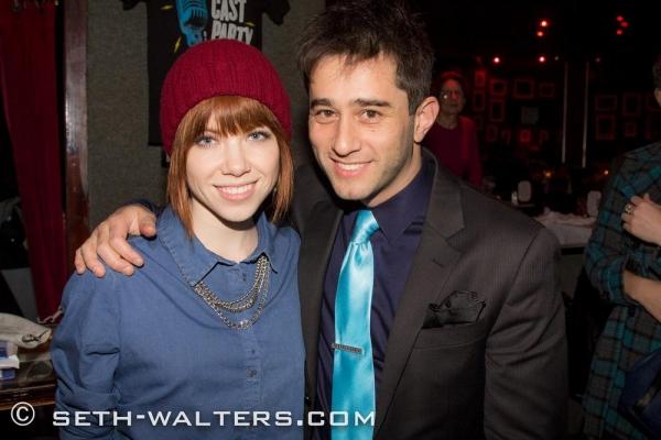 Carly Rae Jepsen and Matt Baker