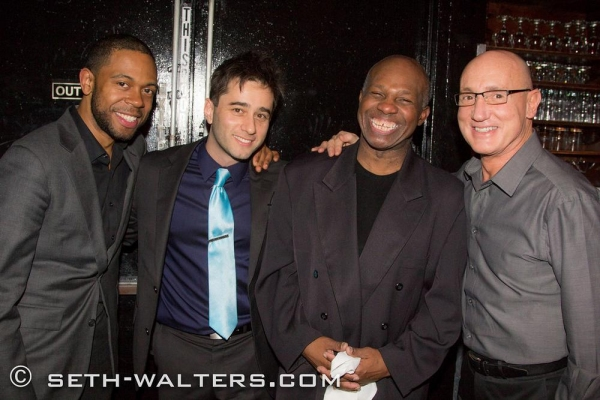 Jerome Jennings, Matt Baker, Jim Cammack and Gianni Valenti