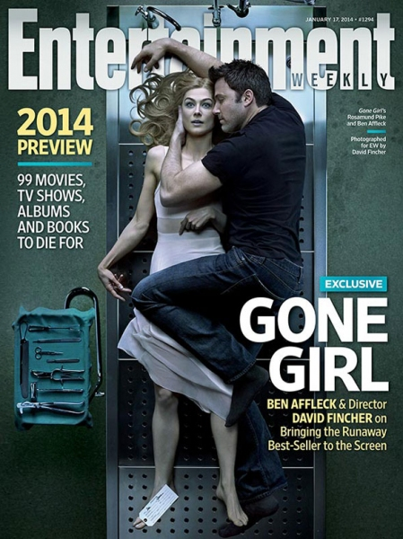 Photo Flash: David Fincher's Film Adaptation of GONE GIRL Featured on Cover of New Entertainment Weekly
