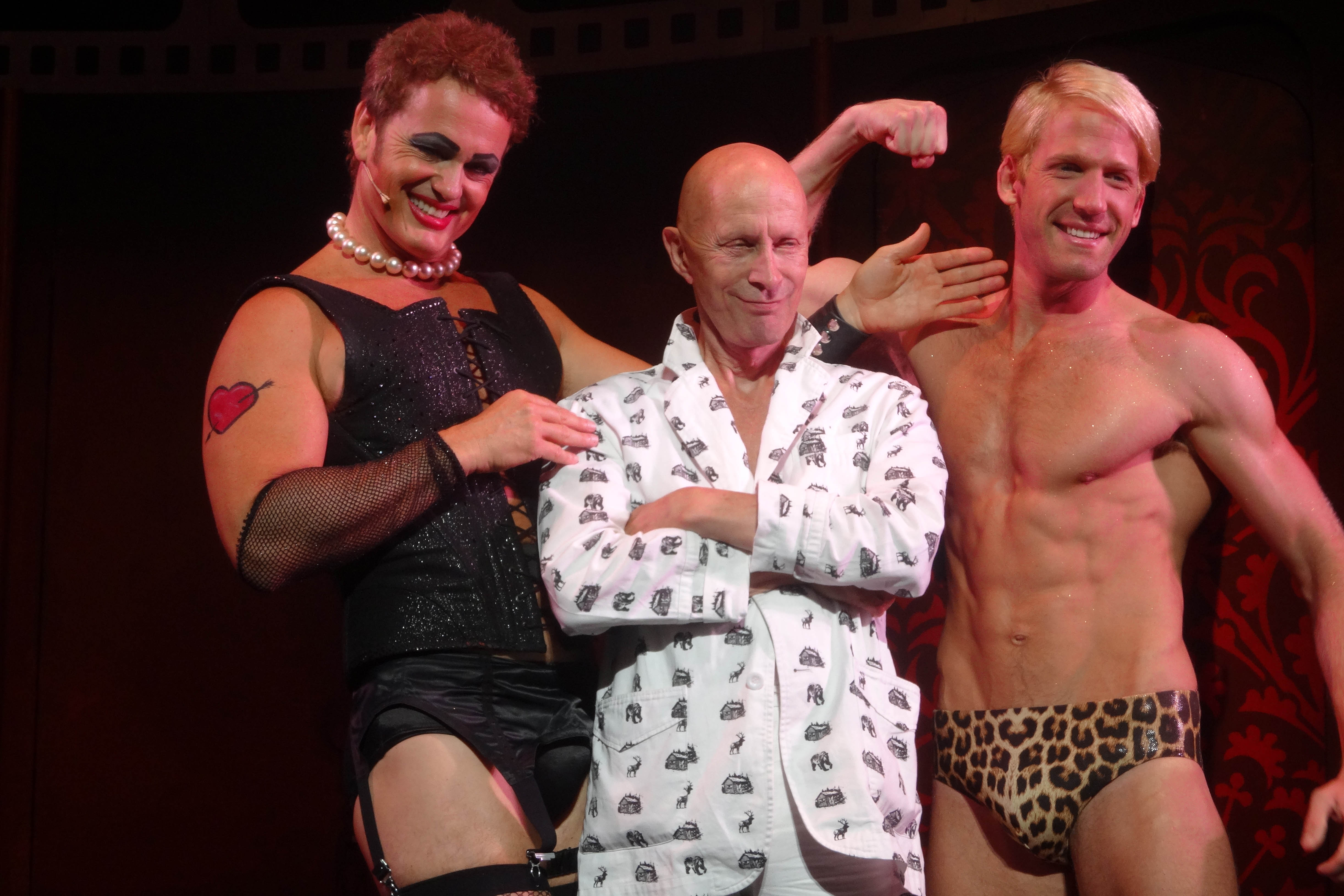 Photo Flash: Creator Richard O'Brien with the Australian Cast of ROCKY HORROR