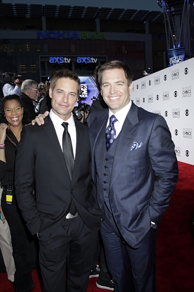 Josh Holloway and Michael Weatherly