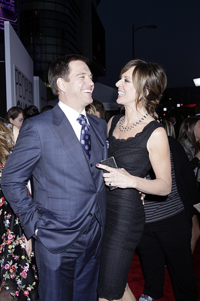 Michael Weatherly & Allison Janney