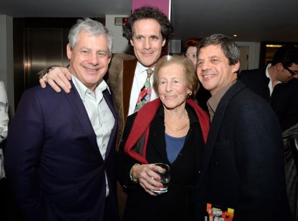 Cameron Mackintosh, Robert Mackintosh, Diana Gladys Tonna and Nicky Mackintosh Photo