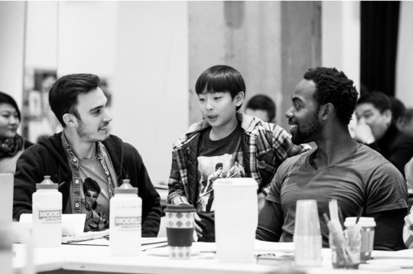 Reed Luplau, Bradley Fong, Clifton Duncan Photo