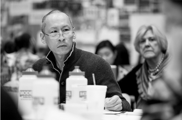 Photo Flash: In Rehearsal with Cole Horibe, Phoebe Strole & More for Signature Theatre's KUNG FU