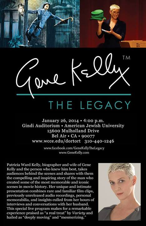 Patricia Kelly Presents GENE KELLY: THE LEGACY, 1/26