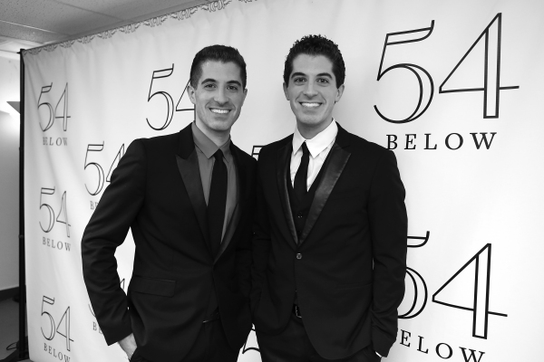 Photo Coverage: Backstage with Will & Anthony Nunziata at 54 Below