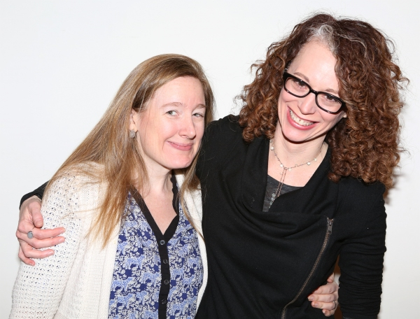 Playwright Sarah Ruhl and Director Rebecca Taichman