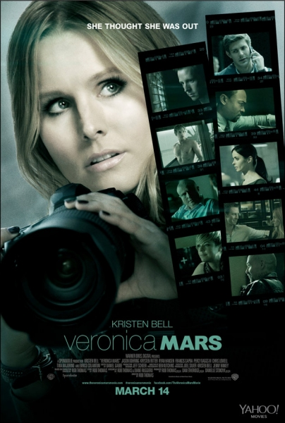 Photo Flash: Kristen Bell in First Poster for the VERONICA MARS Movie!
