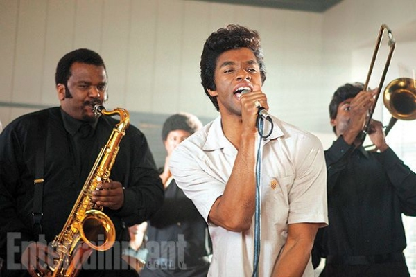Photo Flash: First Look - Chadwick Boseman as James Brown in GET ON UP