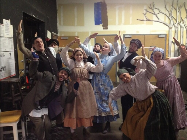 Photo Flash: Saturday Intermission Pics, Jan 11 - GHOST Tour Celebrates 100th Performance and More!
