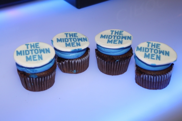 The Midtown Men Cupcakes both delicious and adorable! Photo