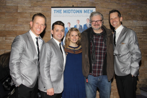 Christian Hoff, Michael Longoria, Celia Keenan-Bolger, John Ellison Conlee and J. Robert Spencer