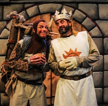 Scott Beyette as  and Wayne Kennedy as King Arthur