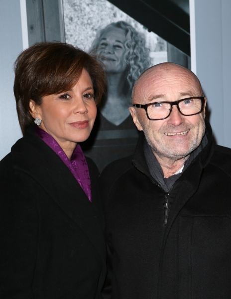 Dana Tyler and Phil Collins  Photo