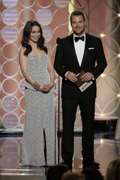 Emilia Clarke, Chris O''Donnell