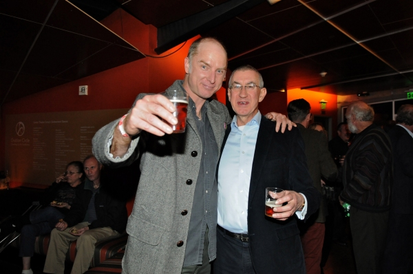 Photo Flash: Gate Theatre's I'LL GO ON, Starring Barry McGovern, Celebrates Opening at CTG