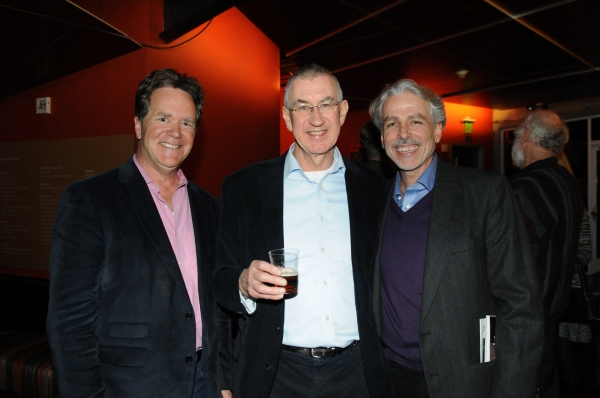 South Coast Repertory Artistic Director Marc Masterson, cast member Barry McGovern an Photo