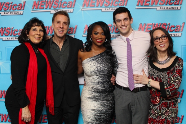 Christine Pedi, Michael West, Kandi Burruss, Dylan Thompson and Susan Mosher Photo
