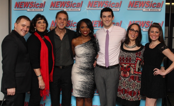 David Foley Jr., Christine Pedi, Michael West, Kandi Burruss, Dylan Thompson, Susan Mosher and Meg Lanzarone