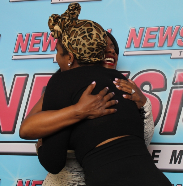 Photo Coverage: Real Housewife Kandi Burruss Celebrates Opening Night in NEWSICAL