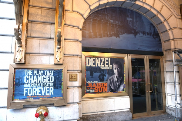 Up On The Marquee: A RAISIN IN THE SUN Installation!