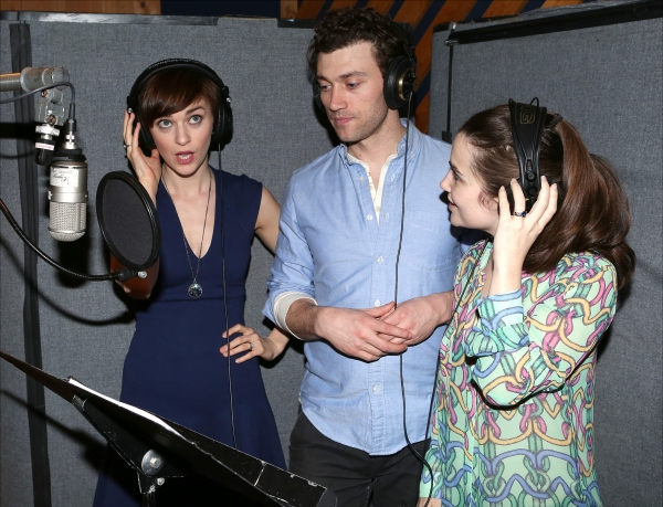 Photo Coverage: In the Recording Studio with Jefferson Mays, Bryce Pinkham and the Cast of A GENTLEMAN'S GUIDE TO LOVE AND MURDER