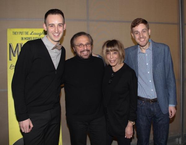 Joe Kinosian, Barry Mann, Cynthia Weil and Kellen Blair