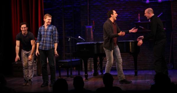 Brett Ryback, Adam Overett, Jeremiah Ginn and Jeff Blumenkrantz