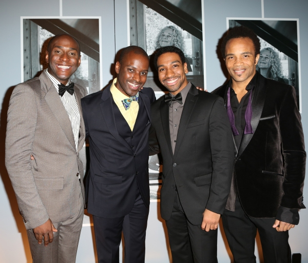 Douglas Lyons, Arbender J. Robinson, E. Clayton Cornelious, and James Harkness Photo