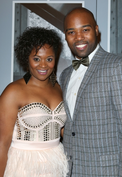 Gabrielle Reid and Melvin Tunstall